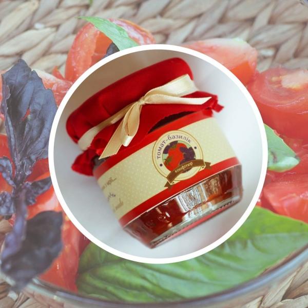 Фото - Томатно-яблочный конфитюр с базиликом купить в киеве на подарок, цена, отзывы