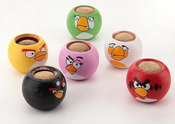 Фото - Травянчик с семенами Angry Birds купить в киеве на подарок, цена, отзывы
