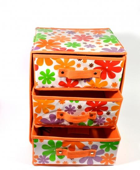 Фото - Тумбочка органайзер на 3 полочки купить в киеве на подарок, цена, отзывы