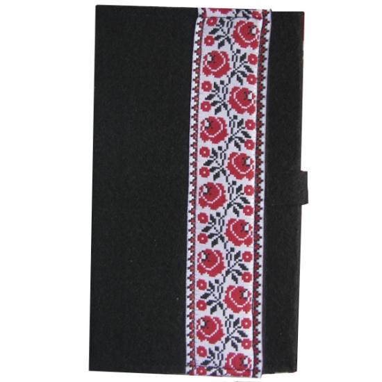 Фото - Украинский блокнот красная вышиванка купить в киеве на подарок, цена, отзывы