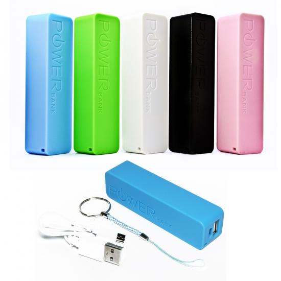 Фото - Универсальная портативная батарея 2600mAh Power Bank купить в киеве на подарок, цена, отзывы