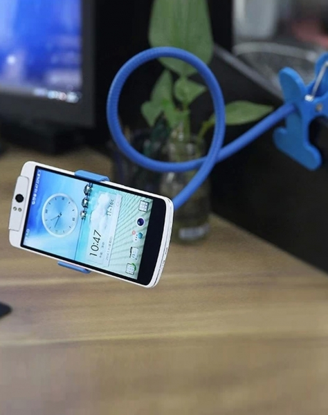 Фото - Универсальный держатель для смартфонов Blue купить в киеве на подарок, цена, отзывы