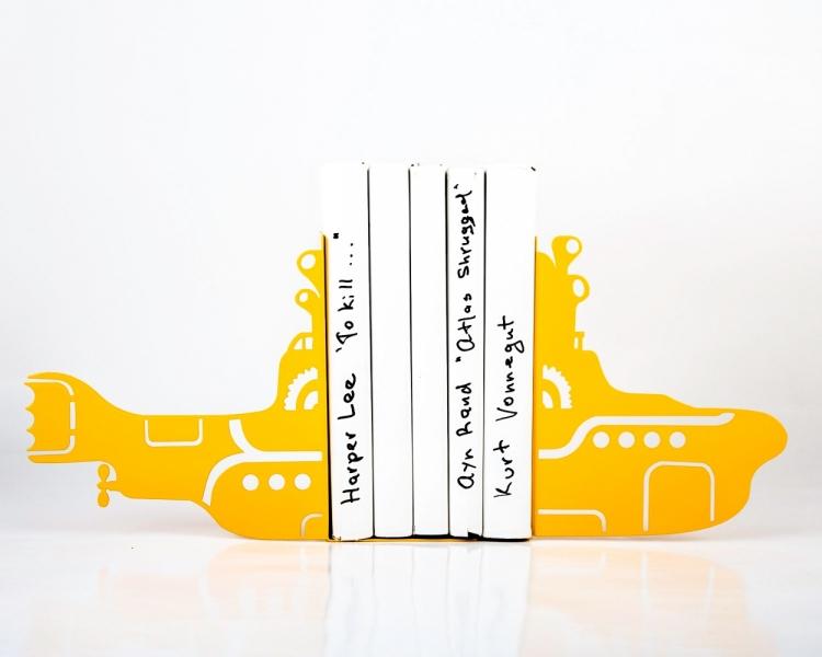 Фото - Держатель для книг Yellow Submarine купить в киеве на подарок, цена, отзывы