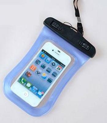 Фото - Водонепроницаемый чехол для телефона Синий купить в киеве на подарок, цена, отзывы