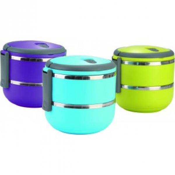 Фото - Вакуумный пищевой термос ланч бокс 1,4 л купить в киеве на подарок, цена, отзывы