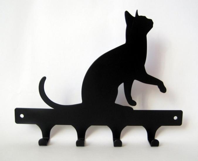 Фото - Вешалка Кошка купить в киеве на подарок, цена, отзывы