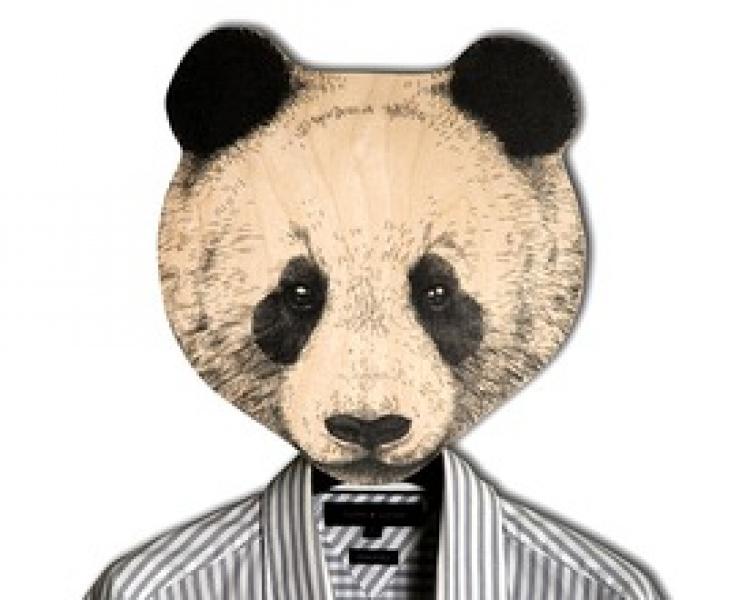 Фото - Вешалка Панда купить в киеве на подарок, цена, отзывы