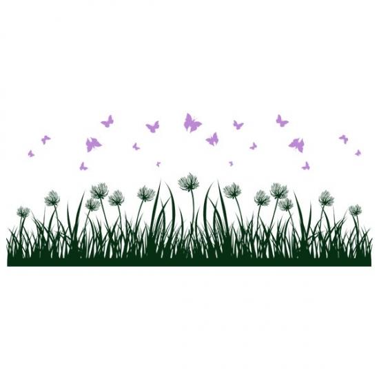 Фото - Виниловая Наклейка Grass  купить в киеве на подарок, цена, отзывы