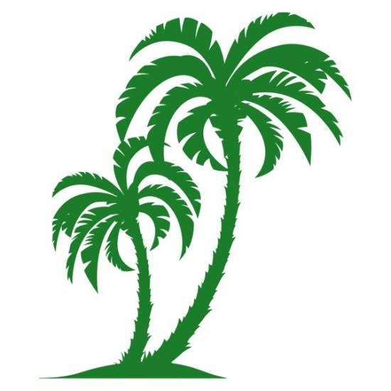 Фото - Виниловая Наклейка Palm Tree купить в киеве на подарок, цена, отзывы