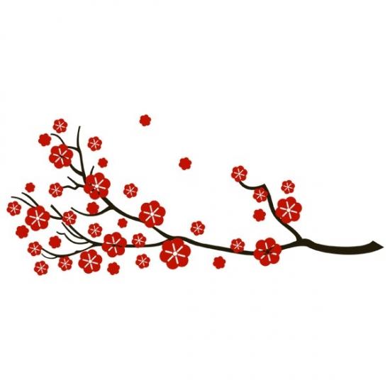 Фото - Виниловая Наклейка Sakura купить в киеве на подарок, цена, отзывы