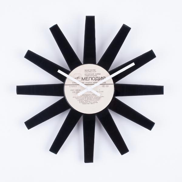 Фото - Виниловые часы Ra  24,5 х 28 см купить в киеве на подарок, цена, отзывы