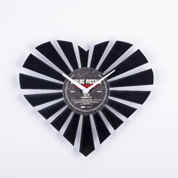Фото - Виниловые часы Сердце купить в киеве на подарок, цена, отзывы