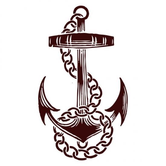 Фото - Виниловый Стикер Anchor купить в киеве на подарок, цена, отзывы
