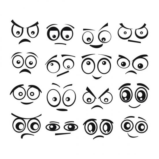 Фото - Виниловый Стикер Funny Eyes купить в киеве на подарок, цена, отзывы