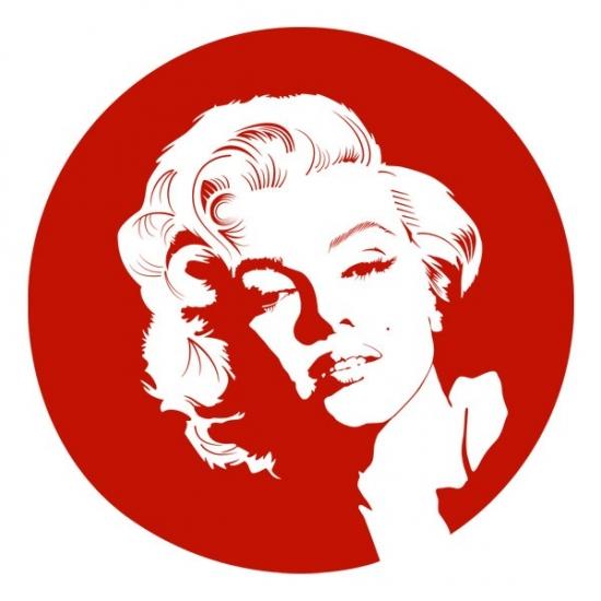 Фото - Виниловый Стикер Monroe купить в киеве на подарок, цена, отзывы
