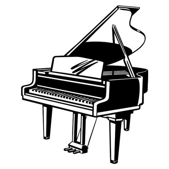 Фото - Виниловый Стикер Piano купить в киеве на подарок, цена, отзывы