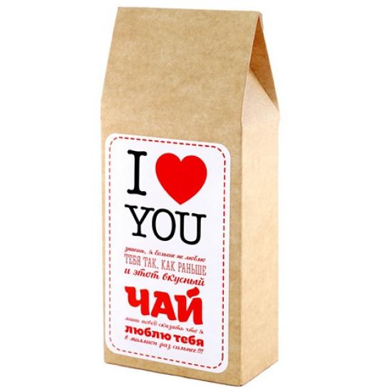 Фото - Вкусная помощь чай Я люблю тебя купить в киеве на подарок, цена, отзывы