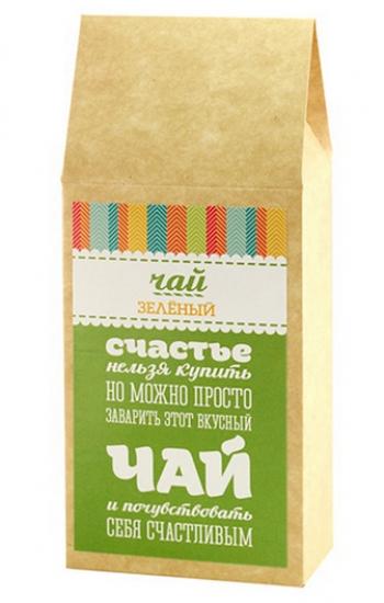 Фото - Вкусная помощь зелёный чай Для счастья купить в киеве на подарок, цена, отзывы