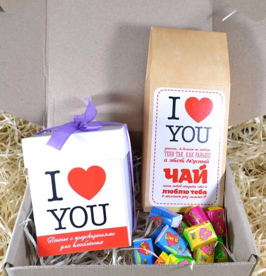 Фото - Вкусный подарок I Love You купить в киеве на подарок, цена, отзывы