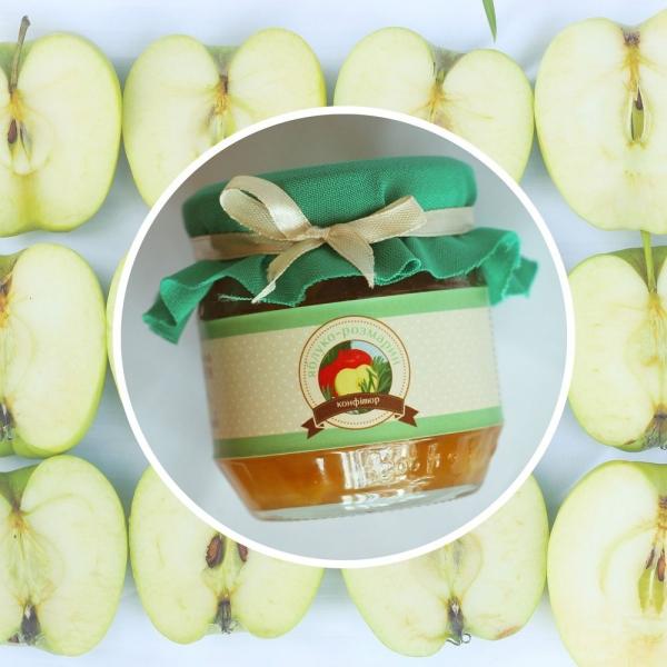 Фото - Яблочный конфитюр с розмарином купить в киеве на подарок, цена, отзывы