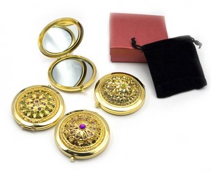 Фото - Зеркальце косметическое узор купить в киеве на подарок, цена, отзывы