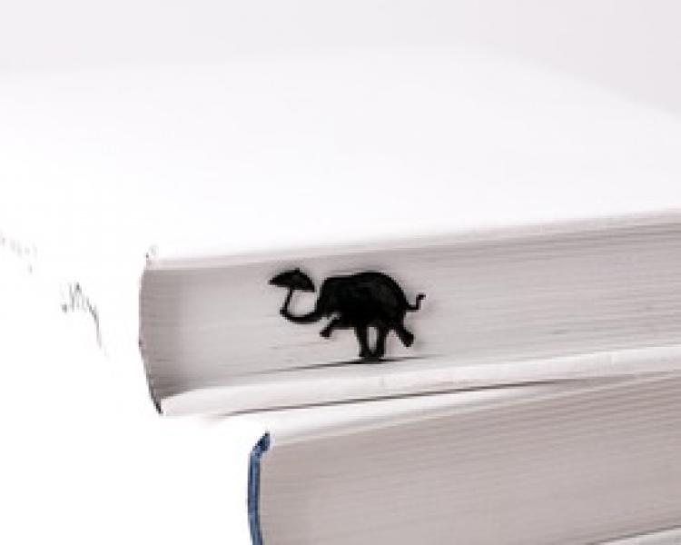 Фото - Закладка Танцующий слон купить в киеве на подарок, цена, отзывы