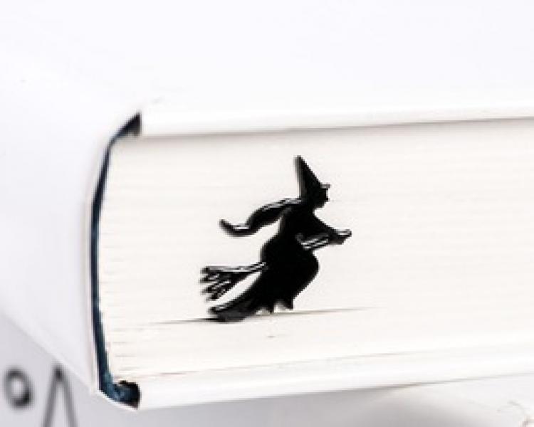 Фото - Закладка Ведьма на метле купить в киеве на подарок, цена, отзывы