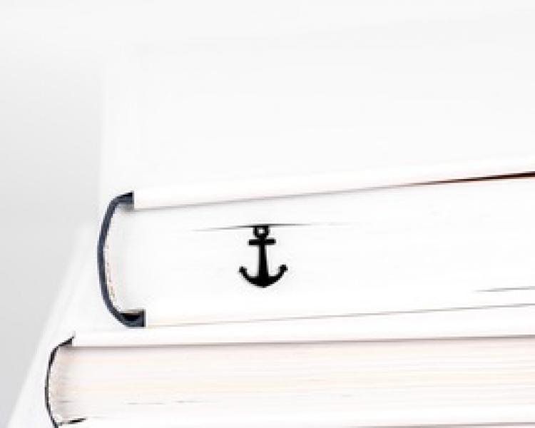 Фото - Закладка Якорь купить в киеве на подарок, цена, отзывы
