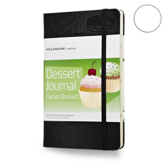 Фото - Записная книжка Moleskine Dessert средняя черная купить в киеве на подарок, цена, отзывы