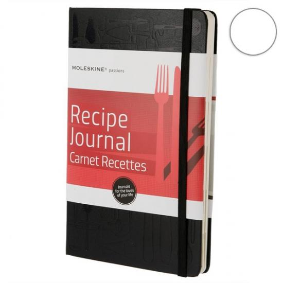 Фото - Записная книжка Moleskine Recipe Journal средняя черная купить в киеве на подарок, цена, отзывы