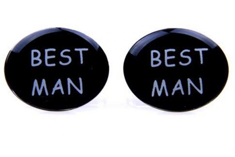 Фото - Запонки Best man  black купить в киеве на подарок, цена, отзывы