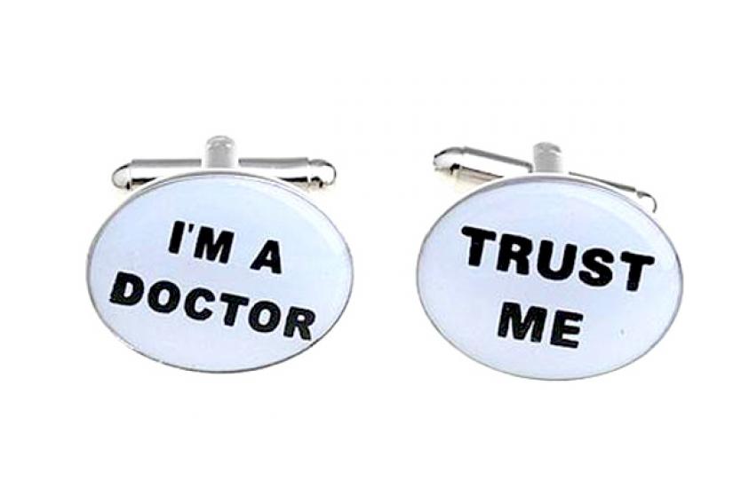 Фото - Запонки Доктор купить в киеве на подарок, цена, отзывы