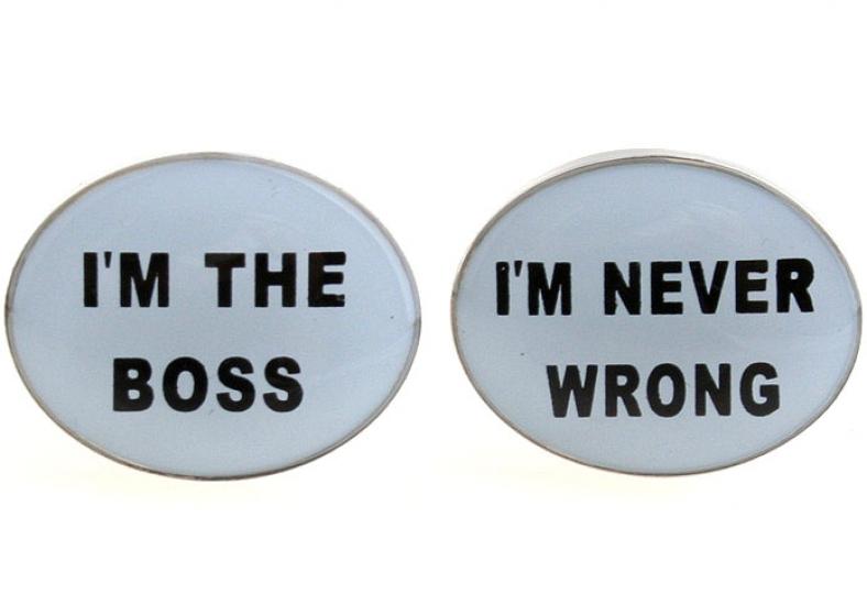 Фото - Запонки Im Boss купить в киеве на подарок, цена, отзывы