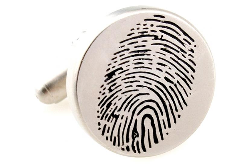 Фото - Запонки Отпечаток пальца купить в киеве на подарок, цена, отзывы