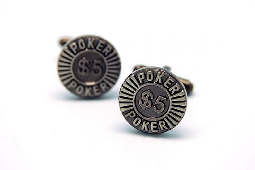 Фото - Запонки Покер купить в киеве на подарок, цена, отзывы