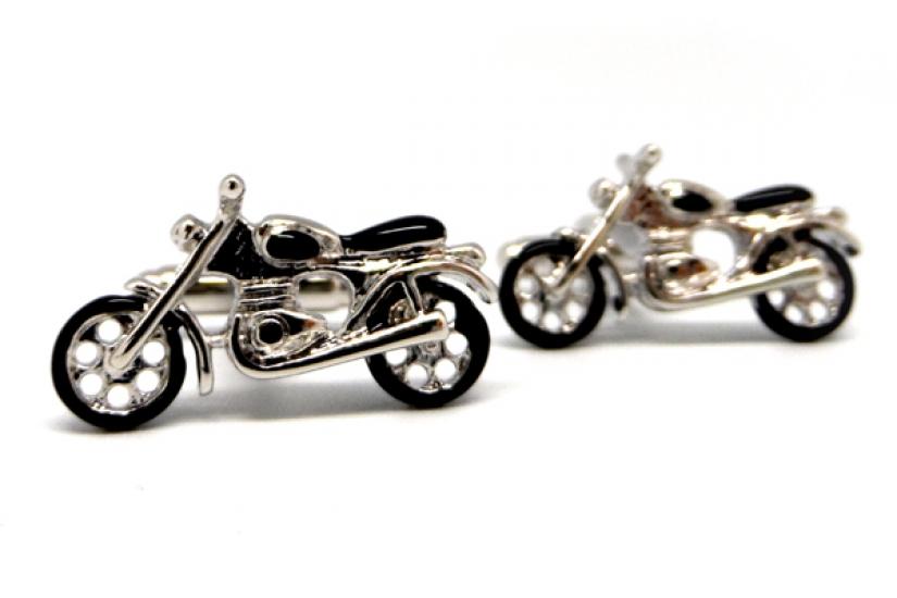 Фото - Запонки Ретро мотоцикл купить в киеве на подарок, цена, отзывы