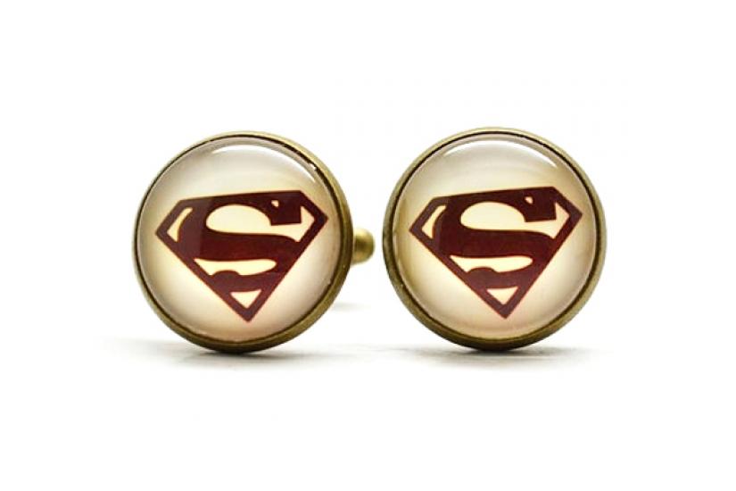 Фото - Запонки Superman retro купить в киеве на подарок, цена, отзывы