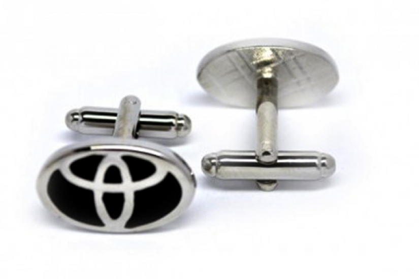 Фото - Запонки Toyota купить в киеве на подарок, цена, отзывы