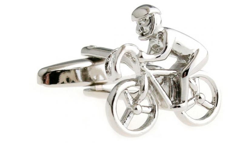 Фото - Запонки Велосипедист купить в киеве на подарок, цена, отзывы