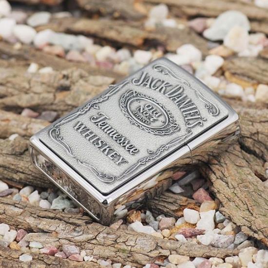 Фото - Зажигалка Zippo Jack Daniels Серебро купить в киеве на подарок, цена, отзывы