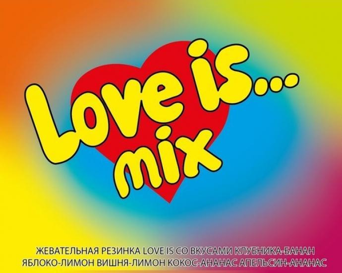 Фото - Жвачки Love is микс 25 шт купить в киеве на подарок, цена, отзывы