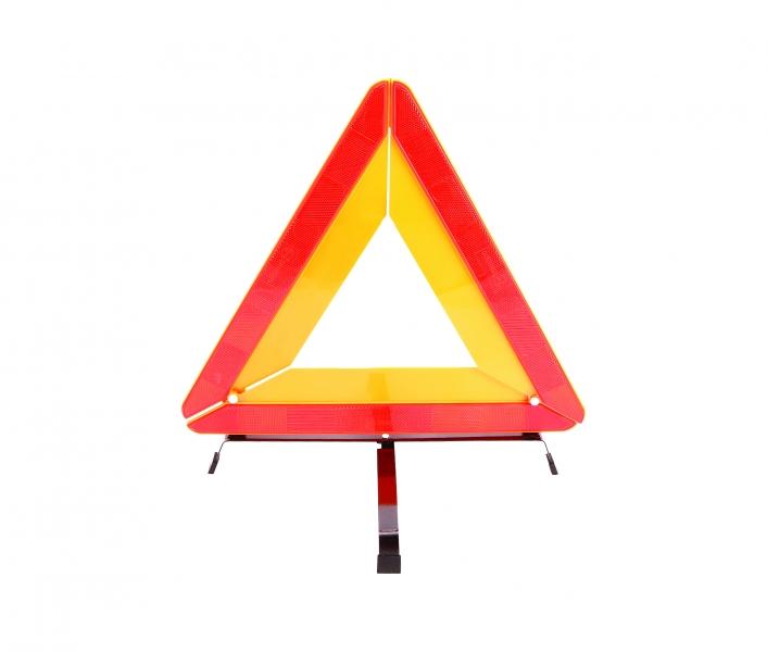 Фото - Знак аварийной остановки в пластиковом футляре Евростандарт купить в киеве на подарок, цена, отзывы