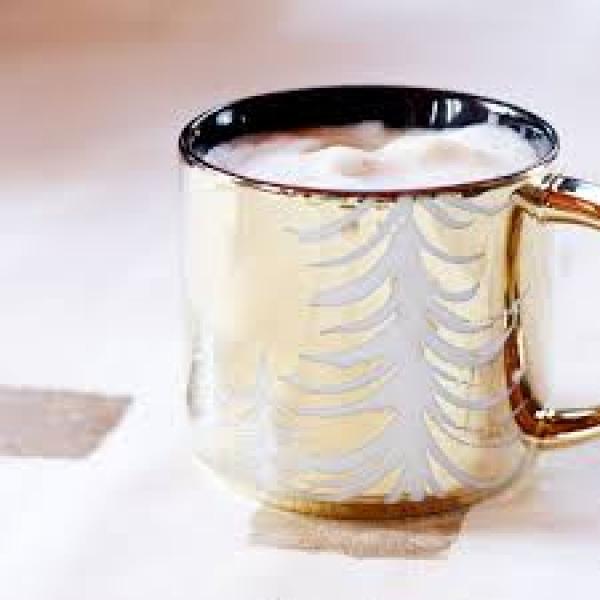 Фото - Золотая кружка Starbucks  Metallic Gold купить в киеве на подарок, цена, отзывы