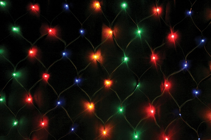 Фото - Гирлянда сетка 140 LED купить в киеве на подарок, цена, отзывы