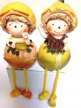 Фото - Домовичек Апельсин большой купить в киеве на подарок, цена, отзывы