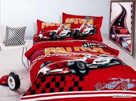 Фото - Детский набор постельного белья Arya Формула купить в киеве на подарок, цена, отзывы