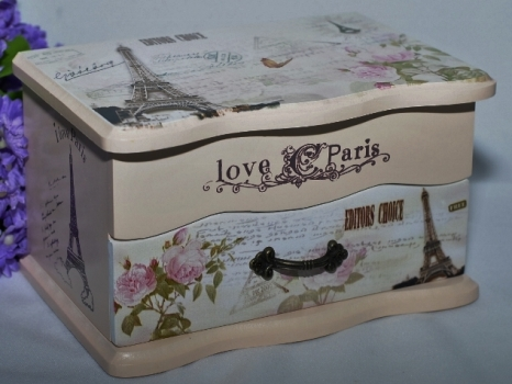 Фото - Шкатулка прованс Париж купить в киеве на подарок, цена, отзывы