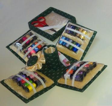 Фото - Набор для шитья из 70 предметов ШВЕЯ купить в киеве на подарок, цена, отзывы