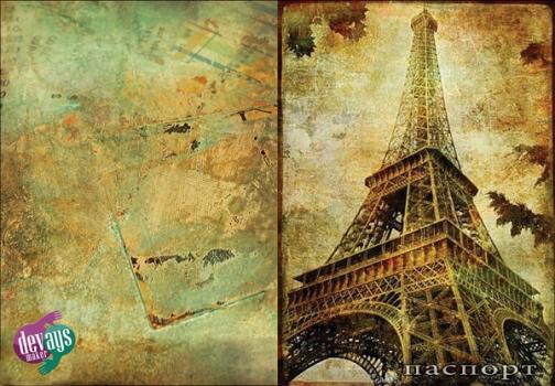 Фото - Обложка на паспорт Париж купить в киеве на подарок, цена, отзывы