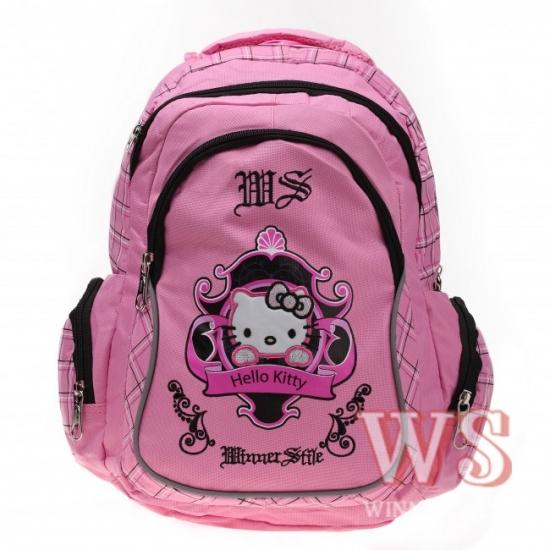 Фото - Рюкзак школьный Hallo Kitty (в ассортименте) WS купить в киеве на подарок, цена, отзывы